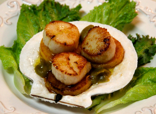 Scallop With Apricot Sauce Recipe — Dishmaps