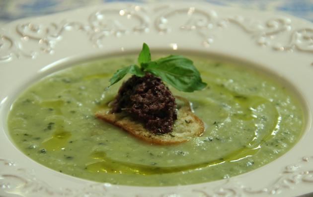 Chilled Zucchini Soup Recipe — Dishmaps